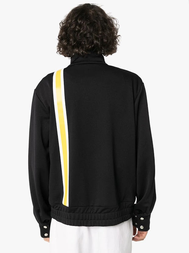 PALM ANGELS MEN MONOGRAM TRACK JACKET
