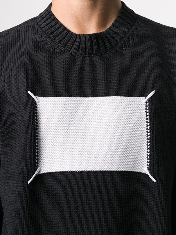 MAISON MARGIELA MEN STITCHED TAG SWEATER