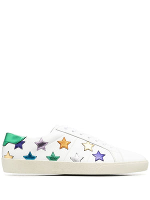 SAINT LAURENT MEN LOW TOP STAR SNEAKER