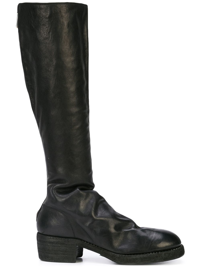 GUIDI WOMEN 7910Z KNEE HIGH BACK ZIP BOOT
