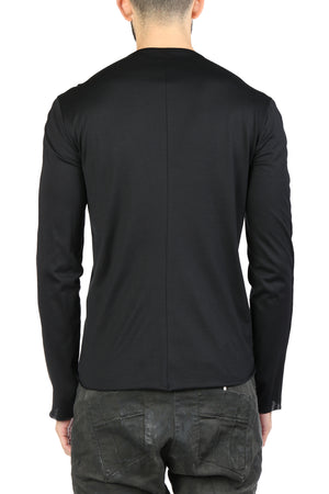 MA+ MEN HENLEY LONG SLEEVE T-SHIRT