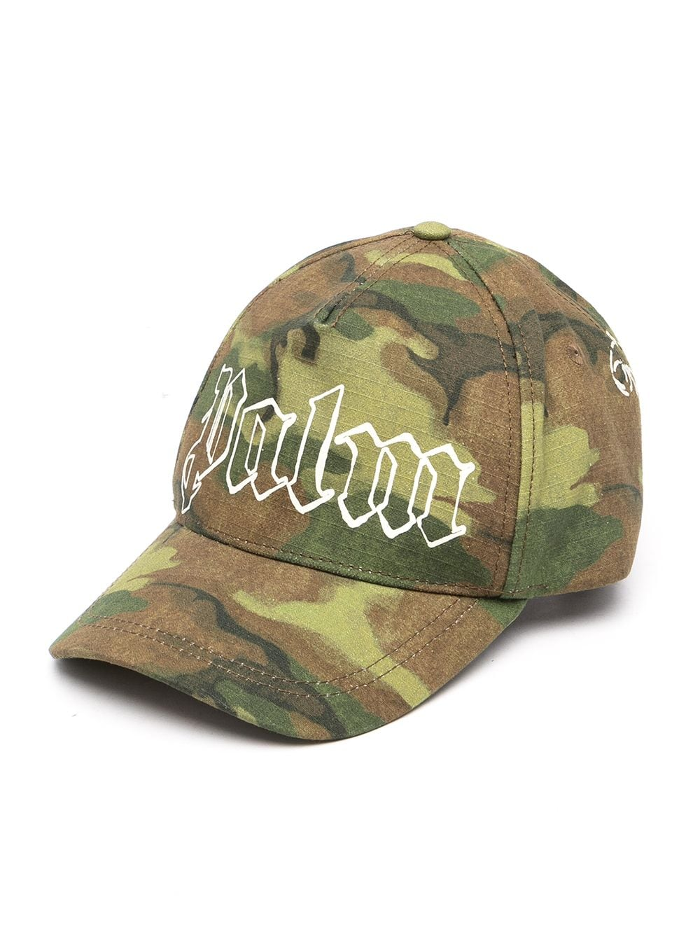 PALM ANGELS MILITARY LOGO CAP