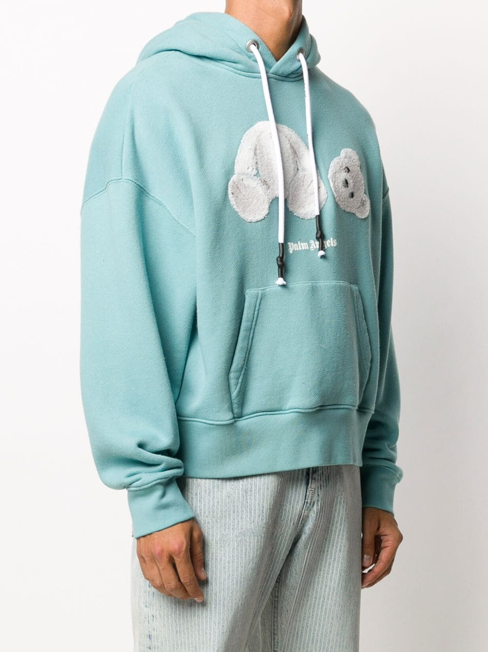 PALM ANGELS ICE BEAR HOODIE