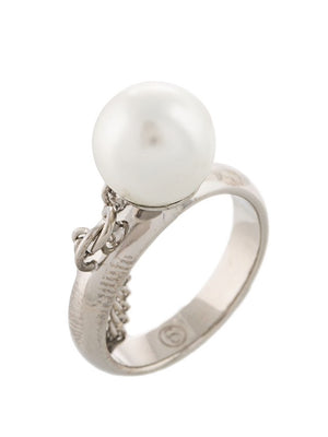 MM6 WOMEN PEARL RING