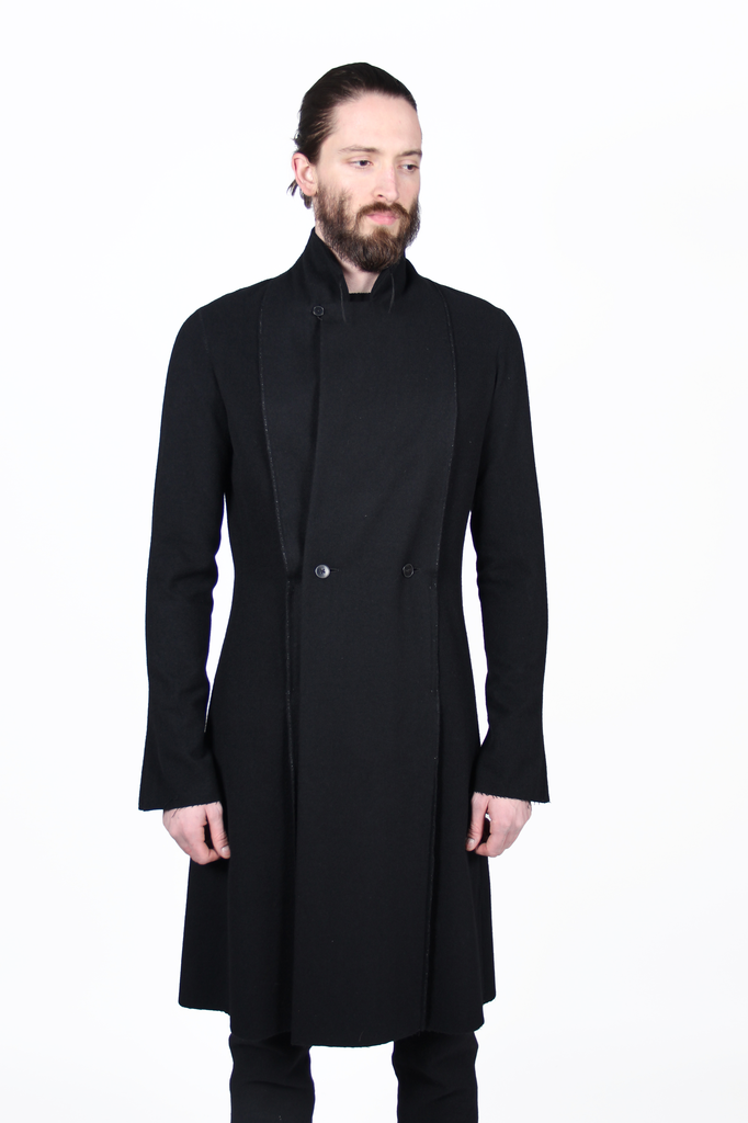 MA+ MEN DOUBLE FOLD LONG COAT