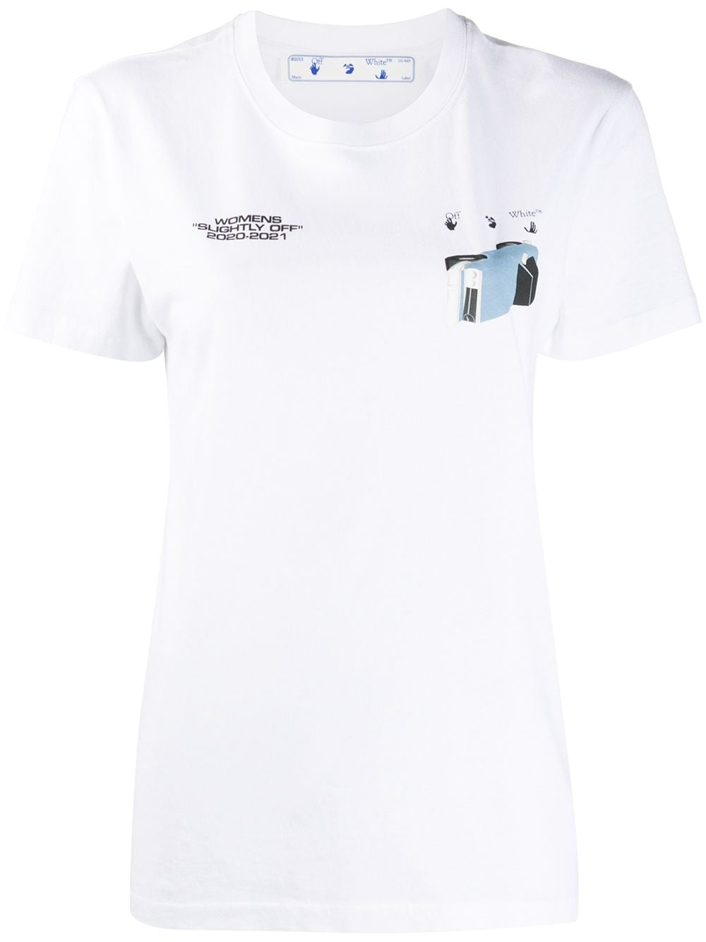 OFF-WHITE WOMEN CARS COLLECTION CASUAL TEE