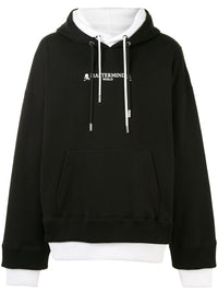 MASTERMIND WORLD MEN LOGO DOUBLE LAYER HOODIE