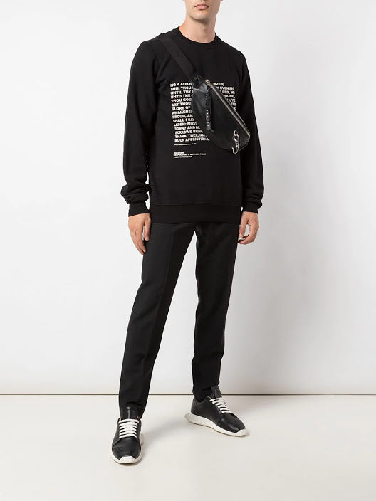 DRKSHDW MEN CREWNECK SWEATSHIRT