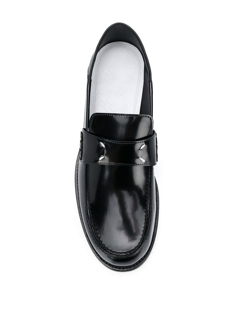 MAISON MARGIELA WOMEN STITCHED LOGO LOAFER