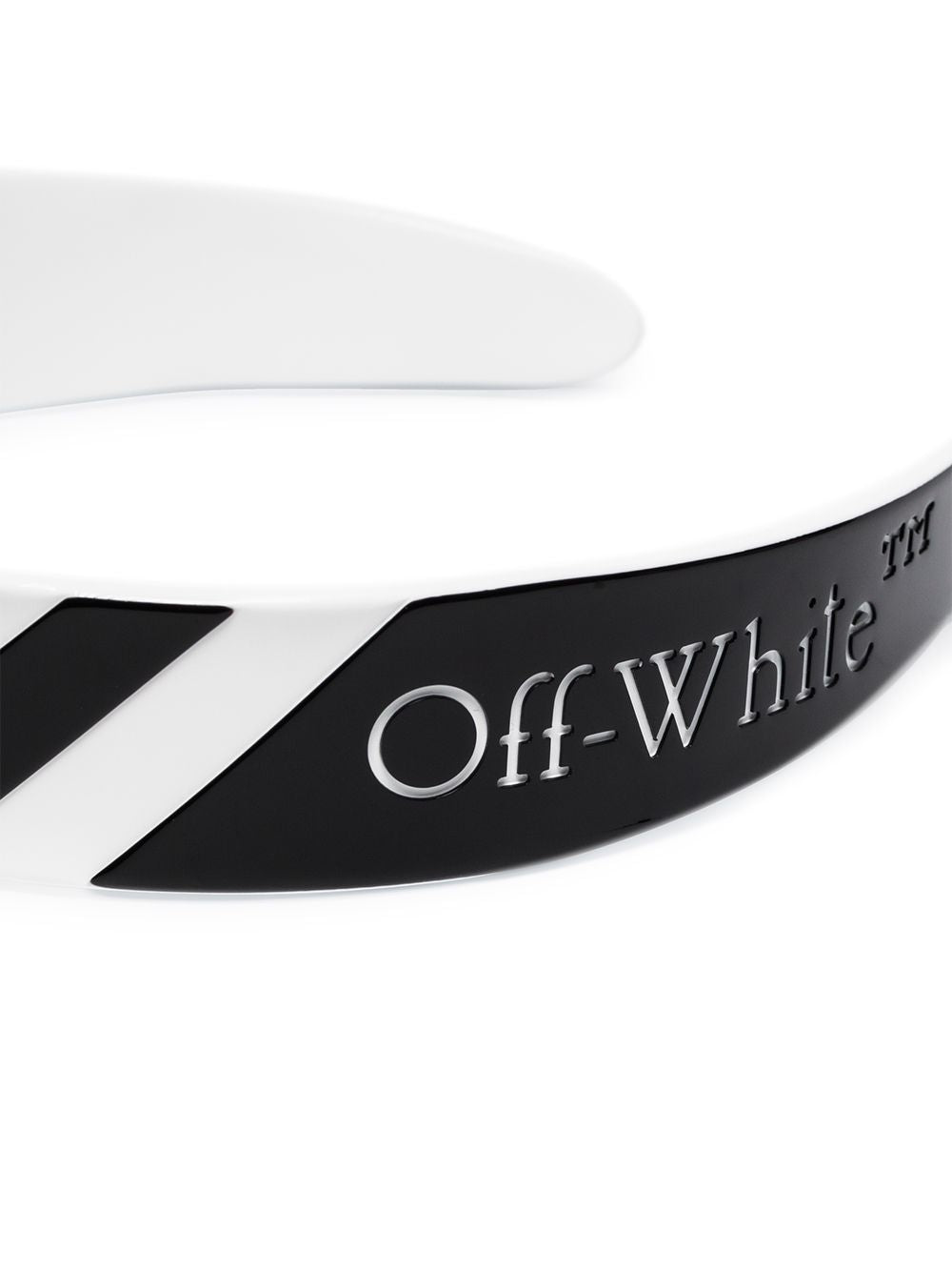 OFF WHITE WOMEN DIAG HEADBAND