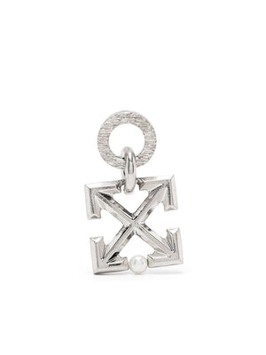OFF-WHITE ARROW MONO EARRING