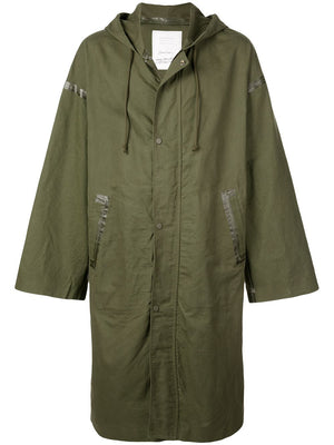 READYMADE VINTAGE COTTON SEAM TAPED RAINCOAT