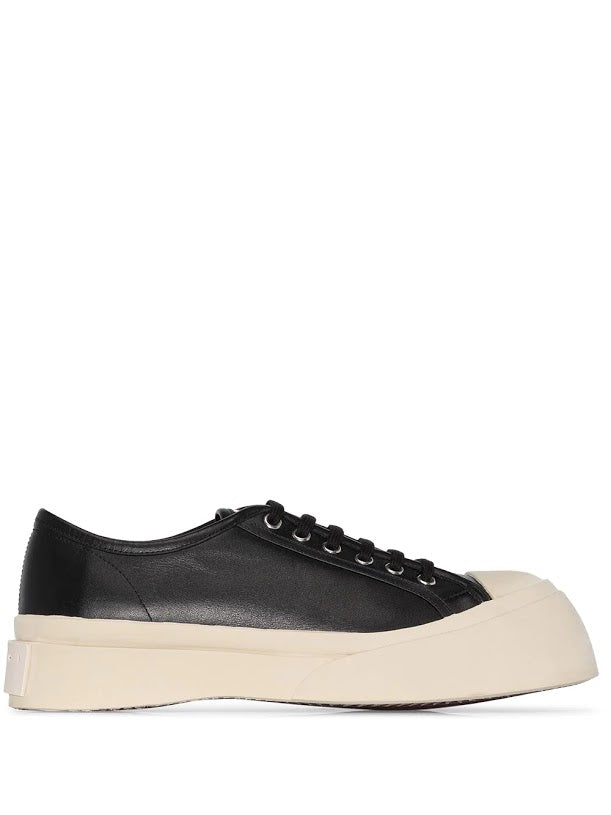 MARNI WOMEN LEATHER SNEAKERS