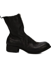 GUIDI PL2 MEN HORSE LEATHER FRONT ZIP BOOT