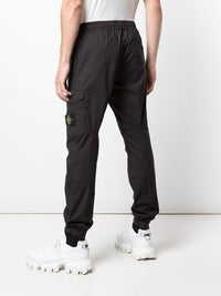 STONE ISLAND MEN SLIM-FIT CARGO TROUSERS