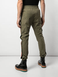 READYMADE MEN SIDE SNAP TRACK PANTS