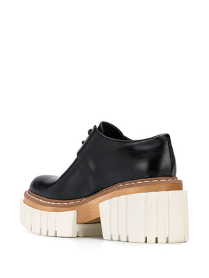 STELLA MCCARTNEY WOMEN PLASTIC EMILIE LACE UP PIXIS