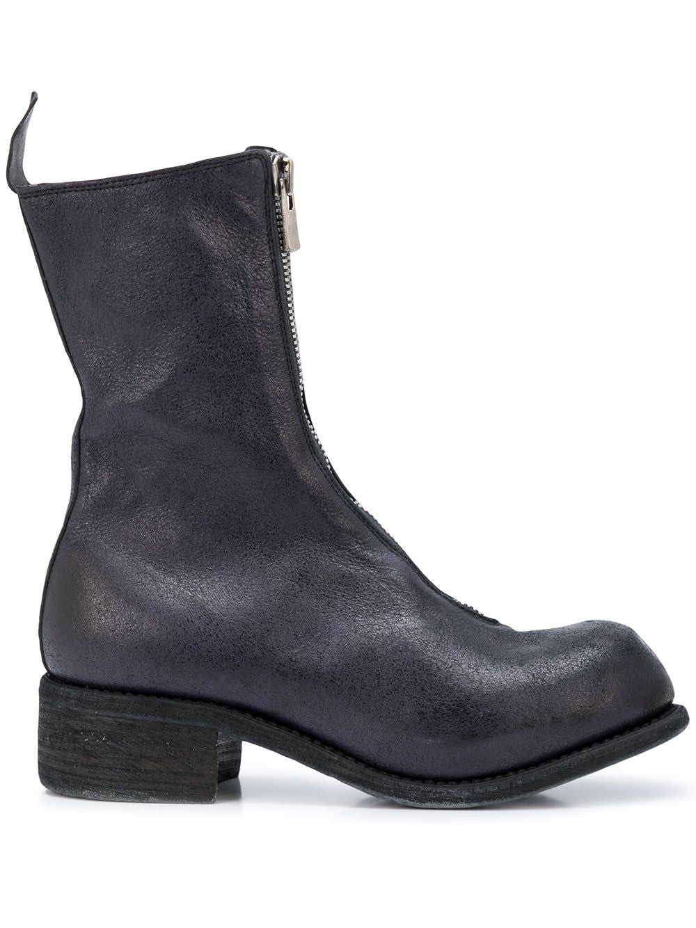 GUIDI WOMEN COATED PL2 FRONT ZIP BOOTS