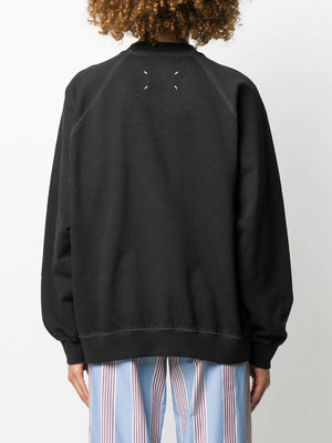 MAISON MARGIELA WOMEN STITCHED TAG SWEATSHIRT