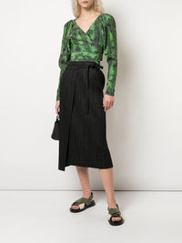 PLEATS PLEASE ISSEY MIYAKE WOMEN PLEATED SKIRT