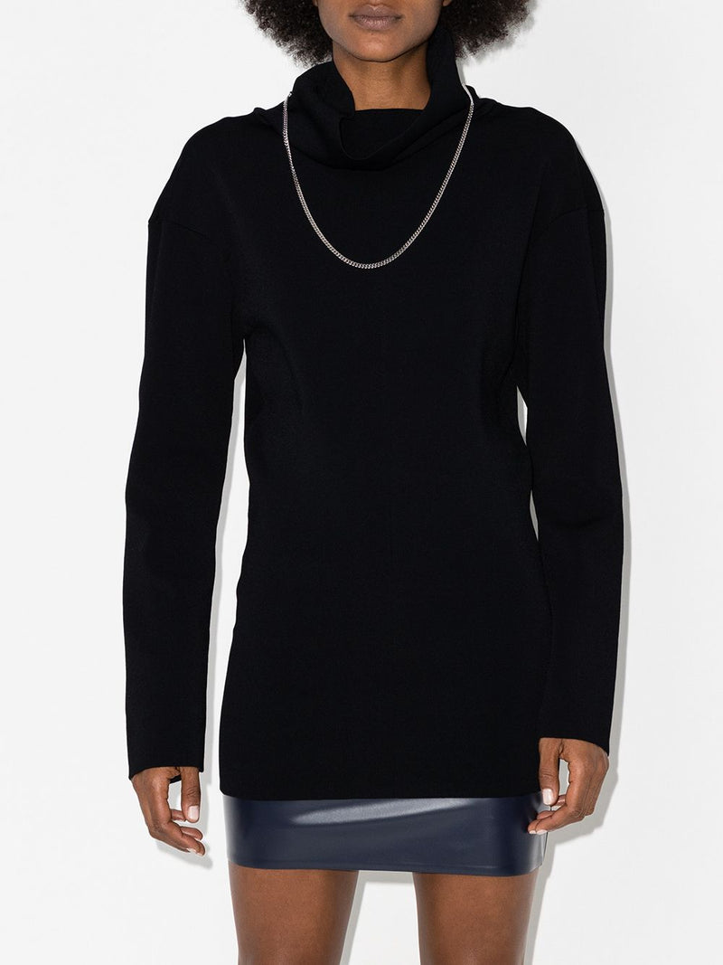 KWAIDAN EDITIONS WOMEN LARGE ROLL NECK JUMPER