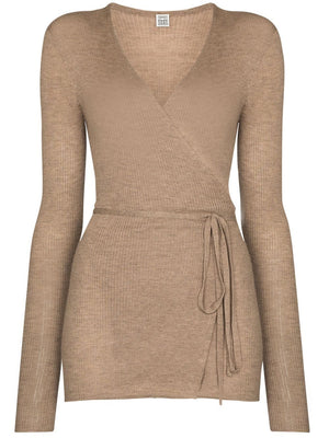 TOTEME WOMEN CASHMERE WRAP KNIT