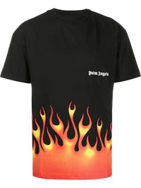 PALM ANGELS MEN FIRESTARTER CLASSIC TEE