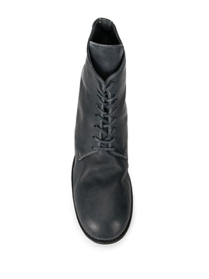 GUIDI MEN 795 SOFT HORSE LEATHER LACE UP BOOTS CO11T