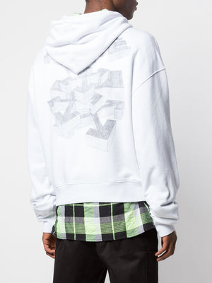 OFF-WHITE MEN 3D PENCIL OVER HOODIE