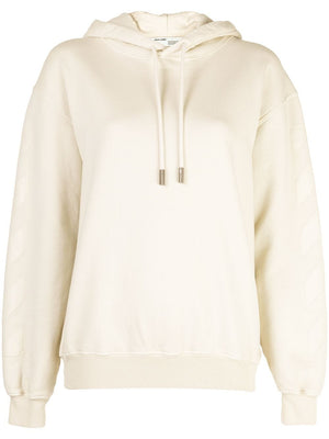 OFF-WHITE WOMEN DIAG OFF WHITE HOODIE