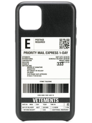 VETEMENTS DELIVERY STICKER IPHONE 11 PRO MAX CASE