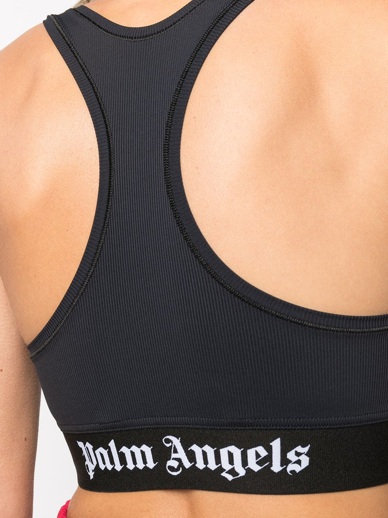 PALM ANGELS WOMEN CLASSIC LOGO SPORTS BRA