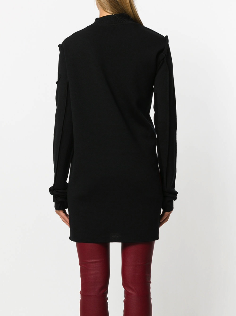 RICK OWENS WOMEN SUBHUMAN KNIT SWEATER