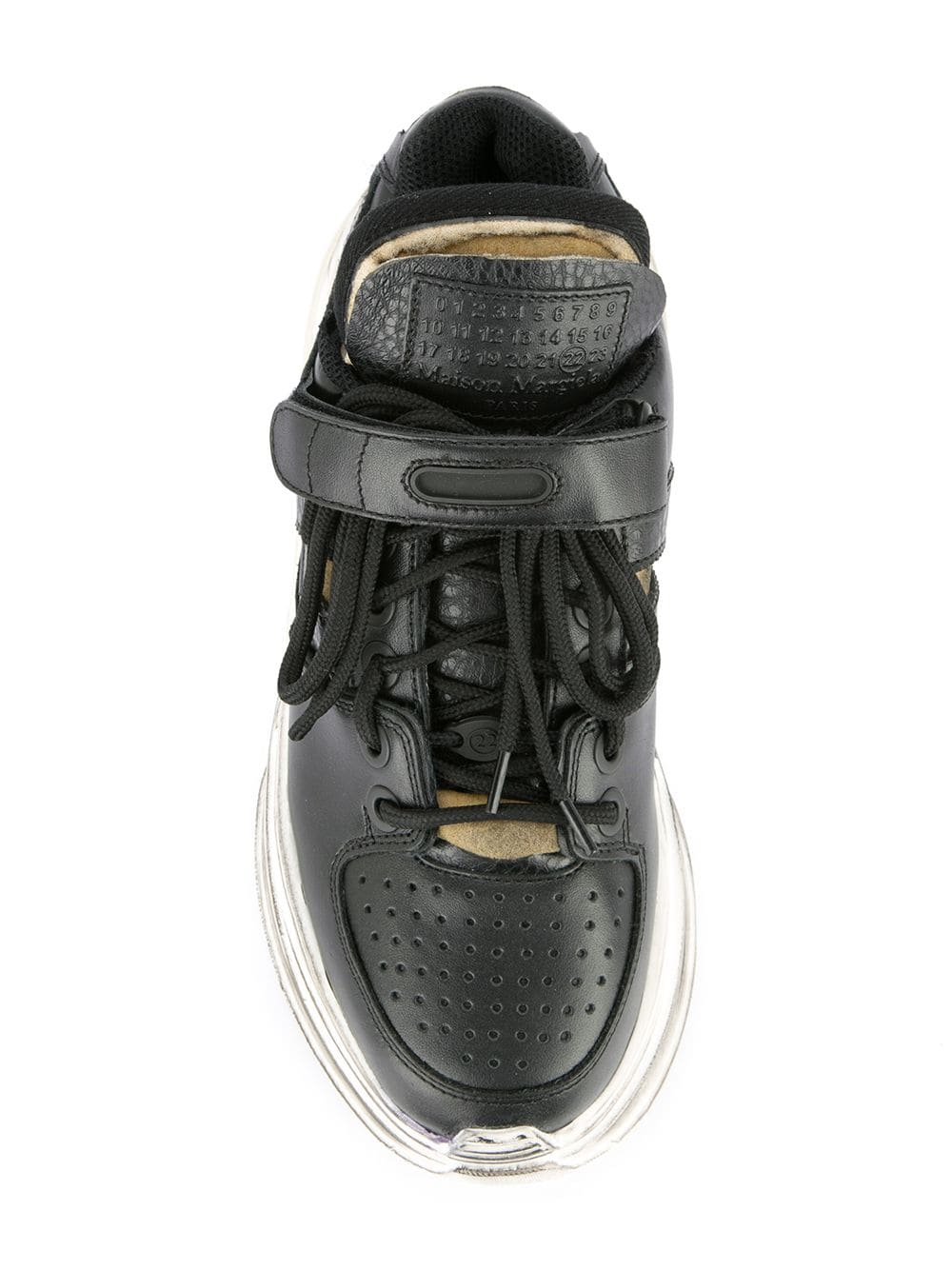 MAISON MARGIELA WOMEN RETRO FIT LOW TOP SNEAKERS
