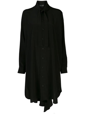 Y'S WOMEN TIE SHIRT DRESS
