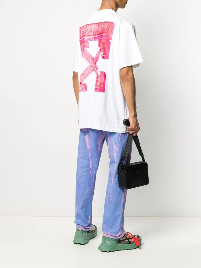 OFF-WHITE MEN MARKER S/S OVER TEE