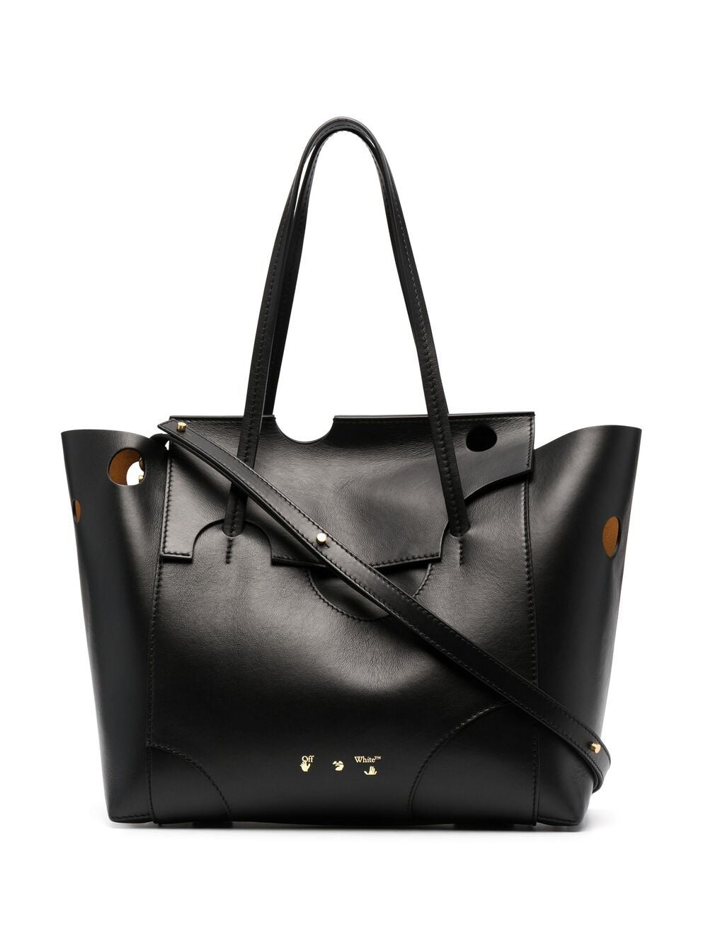 OFF-WHITE WOMEN BURROW TOTE BAG 38