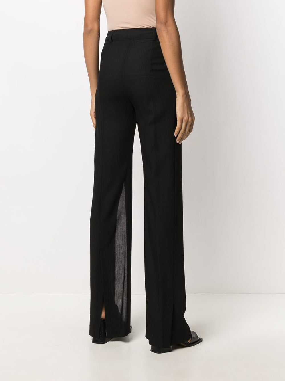 ANN DEMEULEMEESTER WOMEN LIGHTLAINE TROUSERS