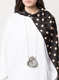 Y'S CLASP NECKLACE PYTHON LEATHER