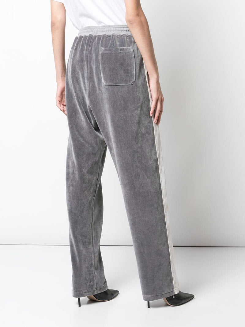 HAIDER ACKERMANN WOMEN ZIP DETAIL JOGGER