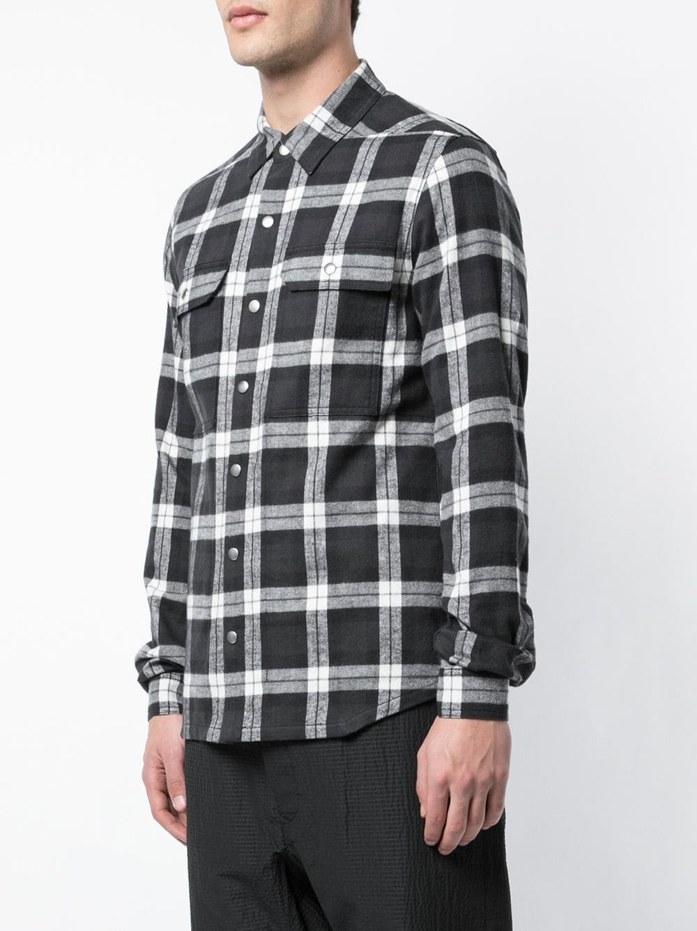 RICK OWENS MEN OUTER SHIRT