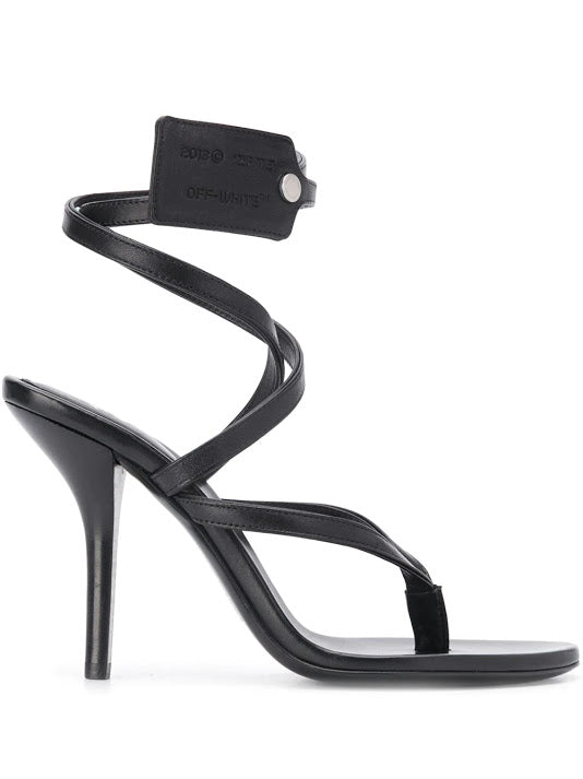OFF WHITE WOMEN ZIPTIE SANDAL
