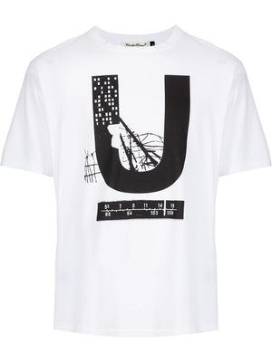 UNDERCOVER MEN LOGO PRINTED T-SHIRT