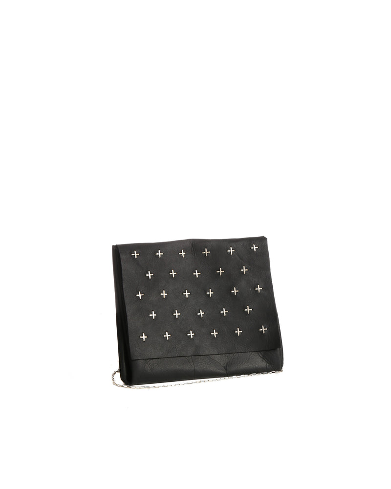 MA+ CROSS STUDDED XS EXPANDABLE ACCORDION BAG