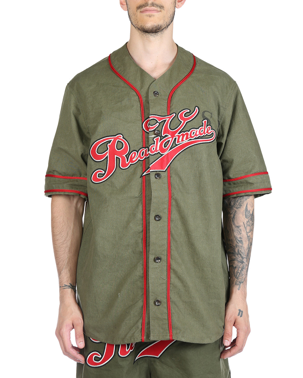 READYMADE MEN BASEBALL SHIRT