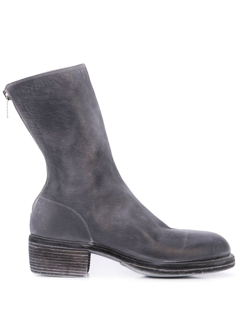 GUIDI WOMEN 788Z SOFT HORSE LEATHER CLASSIC BACK ZIP BOOTS