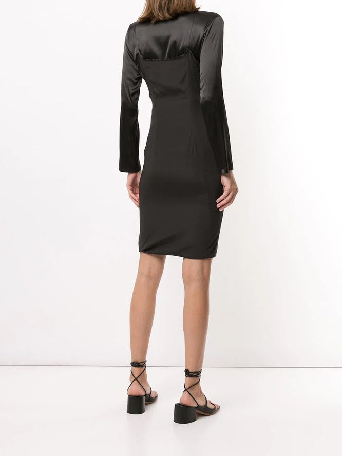 ANN DEMEULEMEESTER WOMEN DRESS BLEARY