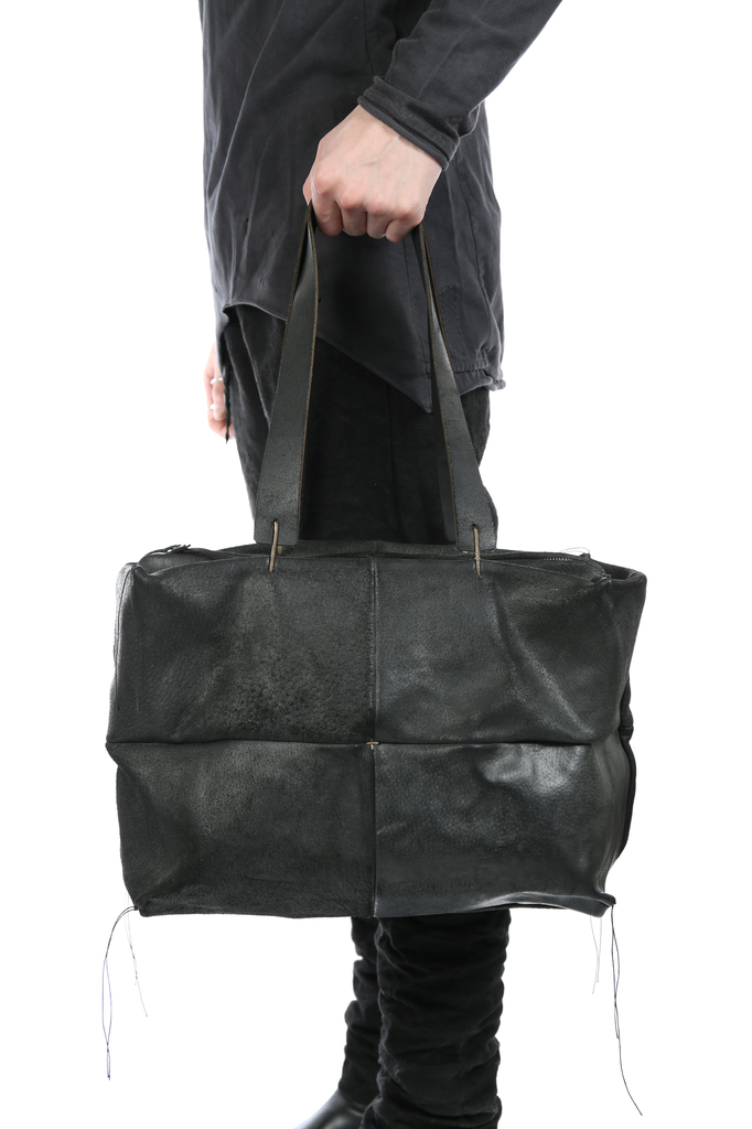 MA+ DOUBLE HANDLE PATCH WORK BAG
