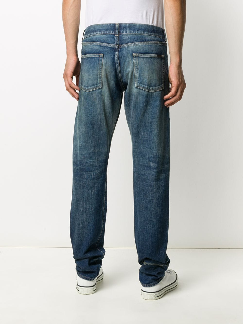 SAINT LAURENT MEN SLIM FIT JEANS