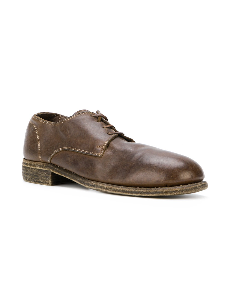 GUIDI MEN 992 CLASSIC HORSE LEATHER DERBY